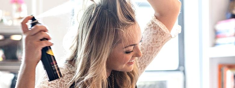 Torrschampo kan orsaka torr hårbotten